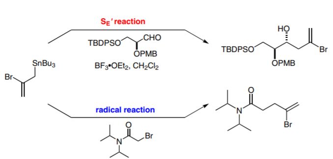 The Preparation and Reactivity of 2-Bromo-3-(tri-n-butylstannyl)-1-Propene