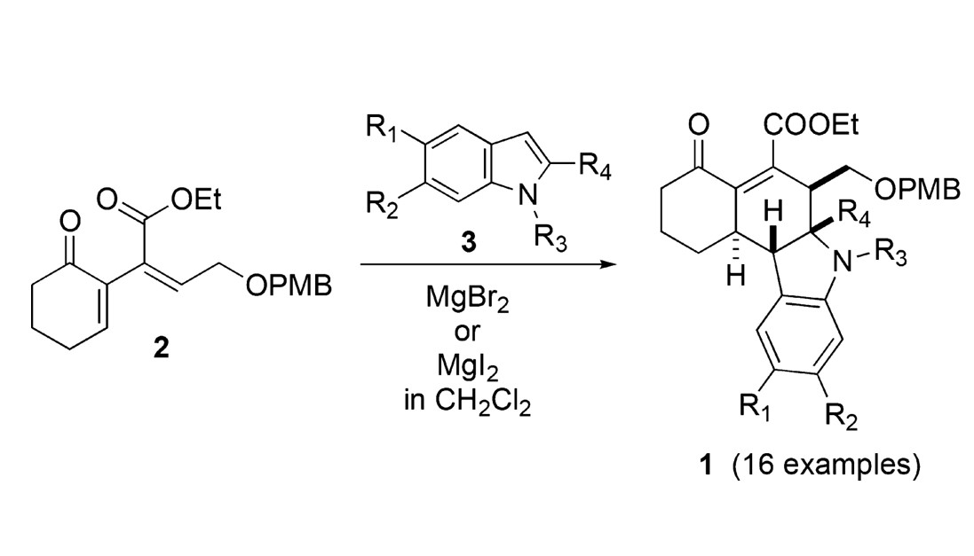 A Stereoselective Michael–Mannich Annelation Strategy for the Efficient Construction of Novel Tetrahydrocarbazoles